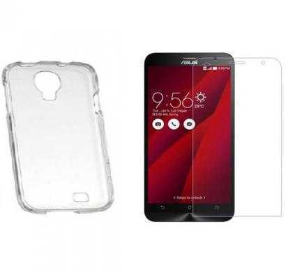 13tech back cover for asus zenfone 2 laser (transparent) with screen guard