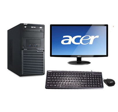 acer veriton h110 desktop pc (core i5 7th/4 gb ram/1 tb hdd/dos/no odd/keyboard & usb mouse/18.5 inch monitor) 3 years warranty