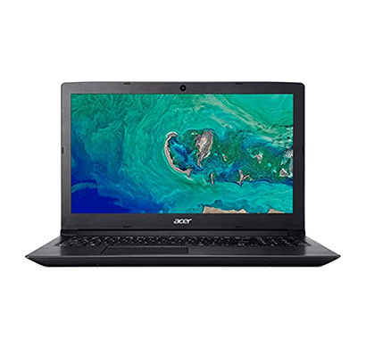 Acer Aspire 3 A315-41-R45R (UN.GY9SI.003) Laptop (Ryzen 5 Quad Core 2500 / 4GB RAM / 1TB HDD / NO DVD RW / WIN 10 HOME / 15.6 INCH FHD SCREEN ) ,Black