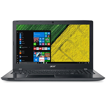 acer notebook e5-576 15.6-inch laptop (intel core i3-6006/ 4gb ram/ 1tb hdd/ windows 10/ (with bag)