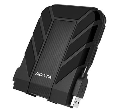 ADATA HD710 Pro 2TB USB 3.1 IP68 Waterproof,Shockproof,Dustproof Ruggedized External Hard Drive, Bla