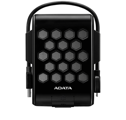 ADATA HD720 2TB USB 3.0 Waterproof, Dustproof, Shock-Resistant External Hard Drive, Black (AHD720-2T