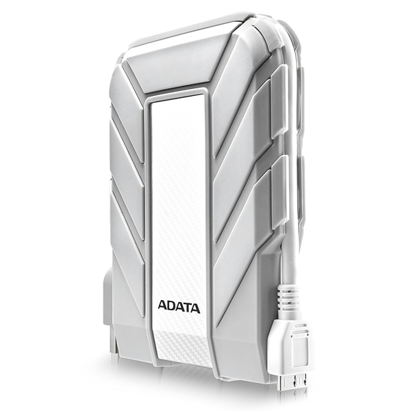 ADATA Waterproof, Dustproof, Shock-Resistant USB 3.0 External Hard Drive (AHD710A-2TU3-CWH)
