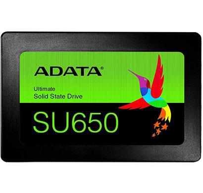 ADATA ULTIMATE SU650 2.5 INCH 480GB ECC 3D NAND SOLID STATE DRIVE