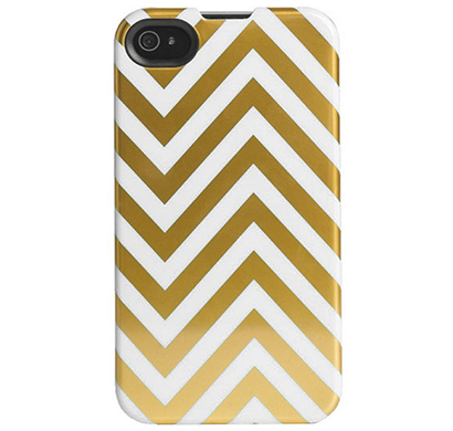 Agent18- P5SSL/52, SlimShield cell phone case for Apple iPhone 5 & 5s, (Gold/White)