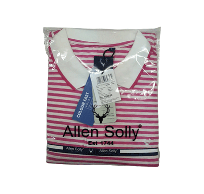 Allen Solly Mens Stripe Polo T-Shirt,( Mix Colour)