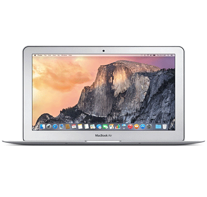 Apple (MJVE2HN/A) MacBook Air (Core i5/4 GB/128 GB SSD/33.78 cm (13.3)/Mac OS X Yosemite) (Silver)