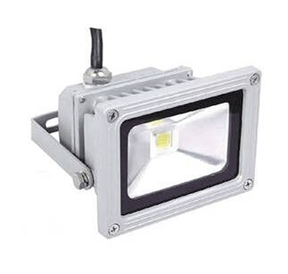 arpit imported high qaulity 10 watt white flood light grey black