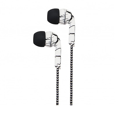 astrum eb200 earphone with mic (white and black)