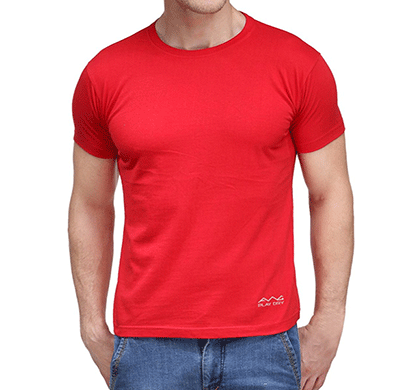 awg 100anb (150 gsm) drifit performance sports round neck t-shirt red