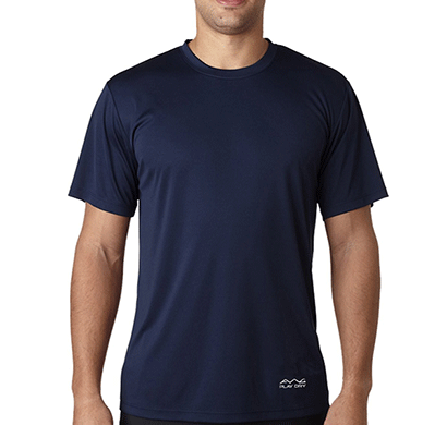 AWG 100ANB (150 GSM) Drifit Performance Sports Round Neck T-shirt Navy Blue