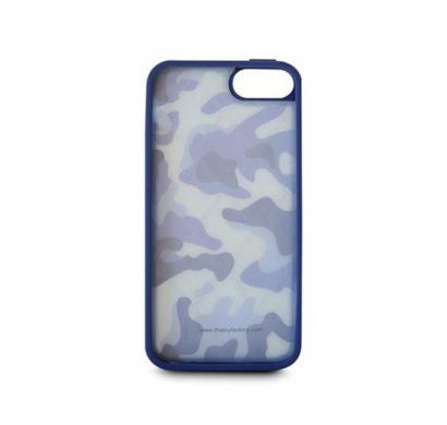 Airmax - Camouflage Air Cushion Case for iPhone 5 (Army Blue)