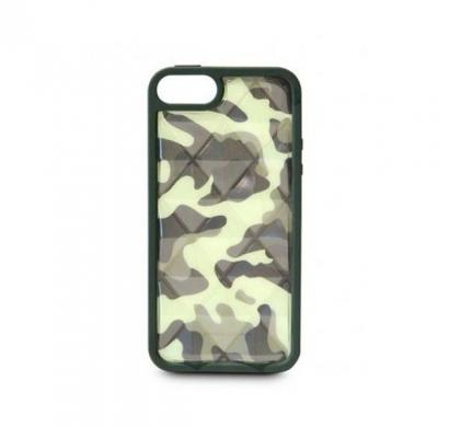 Airmax - Camouflage Air Cushion Case for iPhone 5 (Army Green)