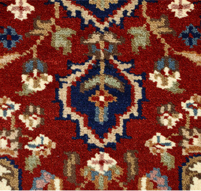asterlane 7/7 carpet hand knotted pkwl-106 red