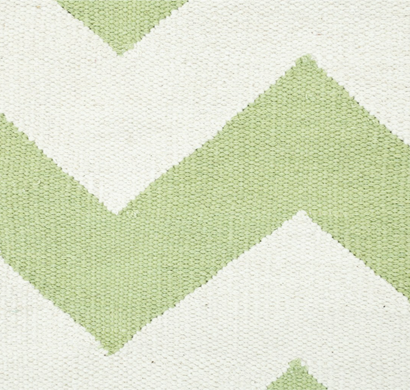 Asterlane Cotton Dhurrie carpet CK-201 Bright Lime Green