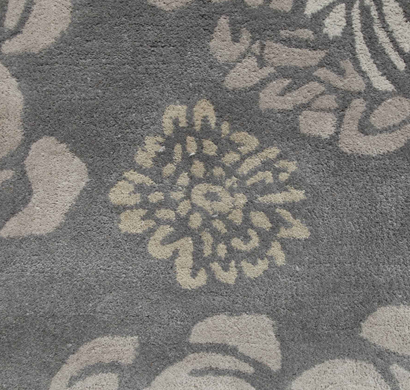 Asterlane Tufted Carpet PX-3001 Gray Brown