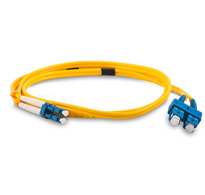 beyondtech single mode sc-lc fiber patch cord