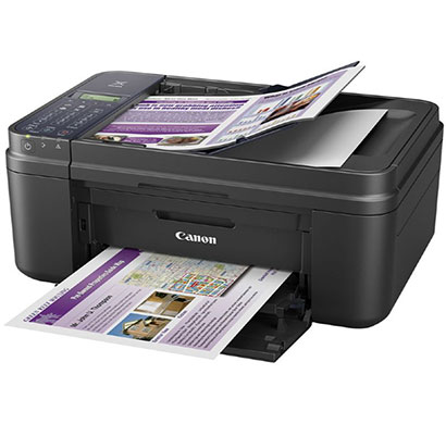 Canon E 480 Colour Wifi Multifunction Inkjet Printer (Black)
