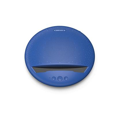 Corseca MUDISC DMS2380 Bluetooth Speaker (Blue,Red,Black,Grey)