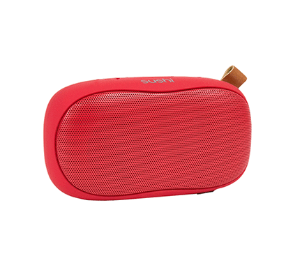 CORSECA Sushi DMS2355 Wireless Bluetooth Speaker (Red)