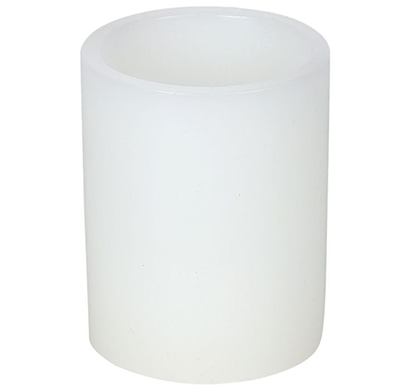 Cosmosgalaxy I3774 Decorative Flameless LED Candle, White