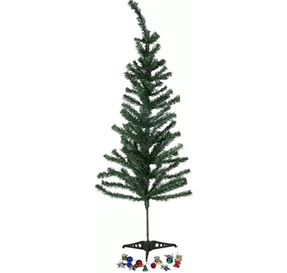 cosmosgalaxy i2893 (4.0 ft) artificial christmas tree (green)