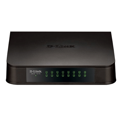 d-link des-1016 16 port 10/100 mbps switch(black)