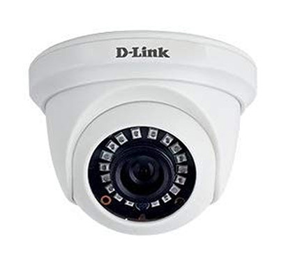 d-link (dcs-f1612) 2mp hd day and night fixed dome camera with 20m of ir range (white)
