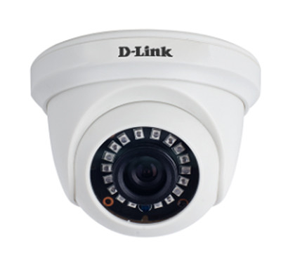 d-link (dcs-f1612b) 2mp fixed dome ahd camera (white)