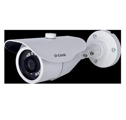 d-link (dcs-f1712) 2mp hd day and night fixed bullet camera with 30m of ir range (white)