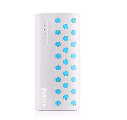 Debock Star (13000mah) Power Bank With 3 Usb OutPut And Torch White