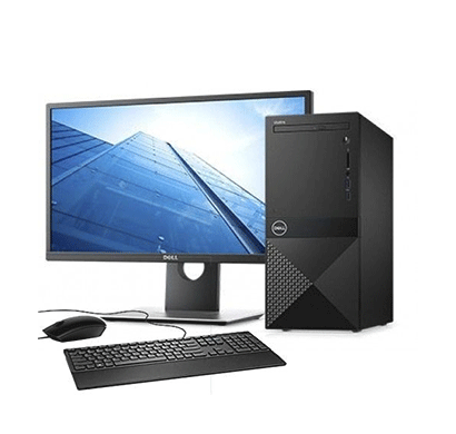 Dell Inspiron 3470 Desktop ( PDC-G5400 /4 GB DDR4/ 1 TB/ DOS /DVDRW/ 19.5 Screen),1 Year Warranty