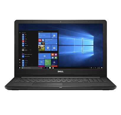 DELL INSPIRON 3565 (GFP1F) Laptop (AMD A6-9225/ 4GB RAM/ 1TB HDD/ 15.6 inch HD Screen/ Windows 10/ MS Office/1NBD),Black