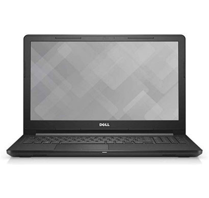 Dell Vostro 3568 Laptop (Core i3-7th Gen 7020u/ 4GB RAM/ 1TB HDD/ DOS/ DVD /15.6-inch /1 year Warranty), Black