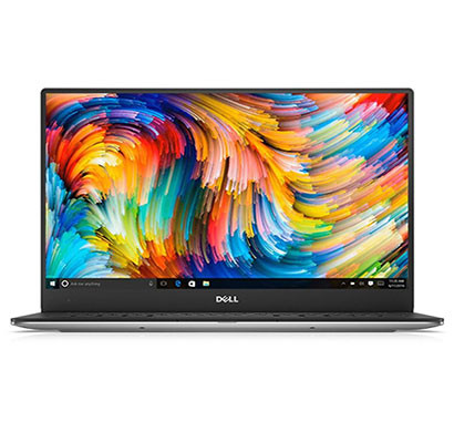 Dell XPS13 9360 (B560057WIN9) Intel Laptop (Core i5/ 8th Gen/8 GB RAM/256 GB SSD/Windows 10/ MS Office/13 Inch Screen/1 Year Warranty), Silver
