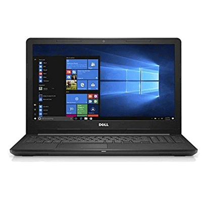Dell Inspiron (3567) 15 3000 Series (Intel Core-i3 7th Gen(4GB RAM/ 1TB HDD/ Windows 10 Home/ MS OFFICE / 15.6 inch Screen/ FHD/Black