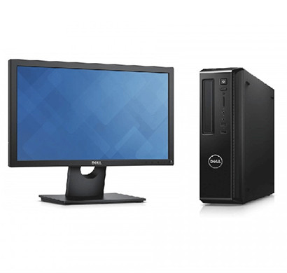 Dell Vostro DT 3800 ( Intel Core Core i3-4170 / 4th Gen / 4GB RAM/ 500GB HDD/ 18.5 inch Screen/ Windows10 PRO/ Black) 1 Year Warranty