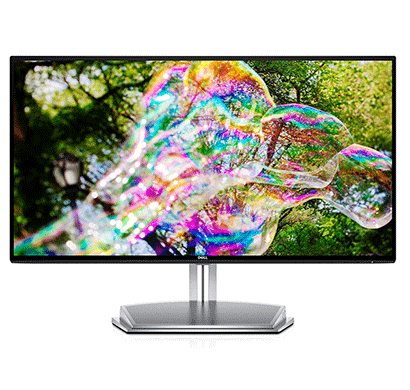 Dell (E2418HN) 23.8 inch Ultra Thin Bezel Edge to Edge LED Monitor-Full HD/IPS Panel with VGA/ HDMI/ Audio in/ Out Ports and in-Built Speakers - (Black and Silver)