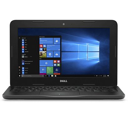 Dell latitude 3180-CDC N3350 7th Gen CPU Upto 2.4 Ghz/ 4GB RAM/ 128GB SSD Drive/ 11.6 inch/ Windows 10 Black