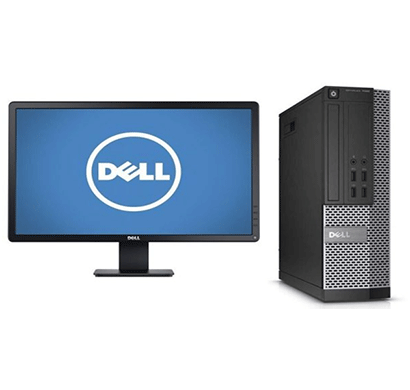 Dell Optiplex - 3020 SFF Desktop (Intel Core-i5/ 4GB RAM/ 500GB HDD/ DVDRW/ UBUNTU/ 18.5 inch/ 3 Years Warranty Black