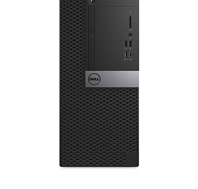 dell optiplex - 7050 mt desktop (intel core i7-7700, 4gb, 1tb, dvdrw, win 10 pro, 19.5 inch, 3 years warranty)