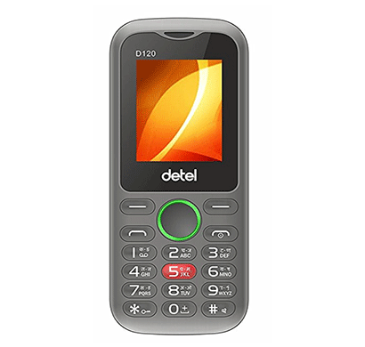 detel d120 1.8 inch display (black)