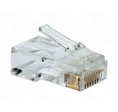 D-Link Cat 5 RJ45 Cable Connector - Pack Of 100 Pieces
