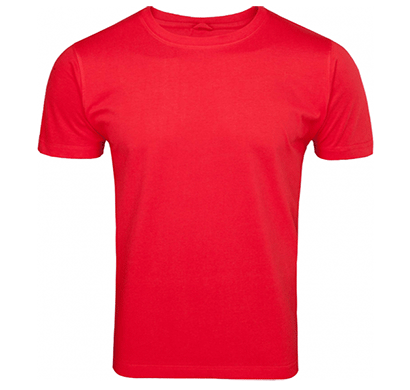 Ditto Round Neck Plain T-shirt 707OR2