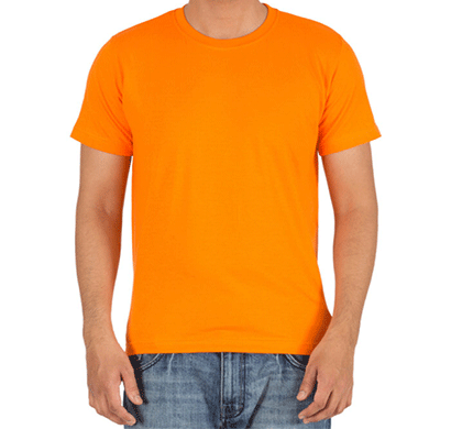 Ditto Round Neck Plain T-shirt 707OR6