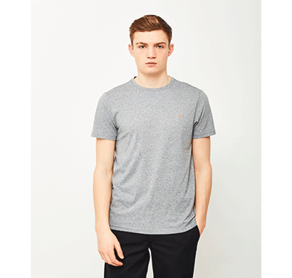 Ditto Round Neck Plain T-shirt 707OR7