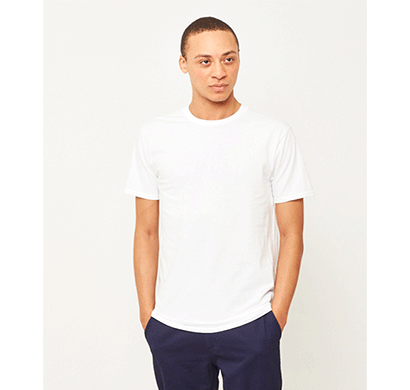 Ditto Round Neck Plain T-shirt 707OR8