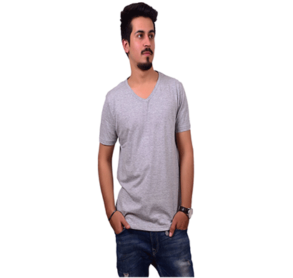 ditto v neck plain t-shirt 710v01