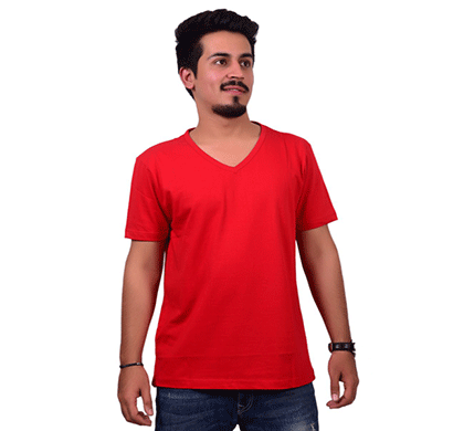 ditto v neck plain t-shirt 710v06