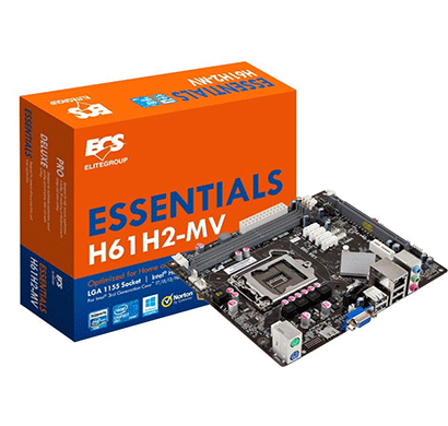 ecs h61h2-mv intel motherboard